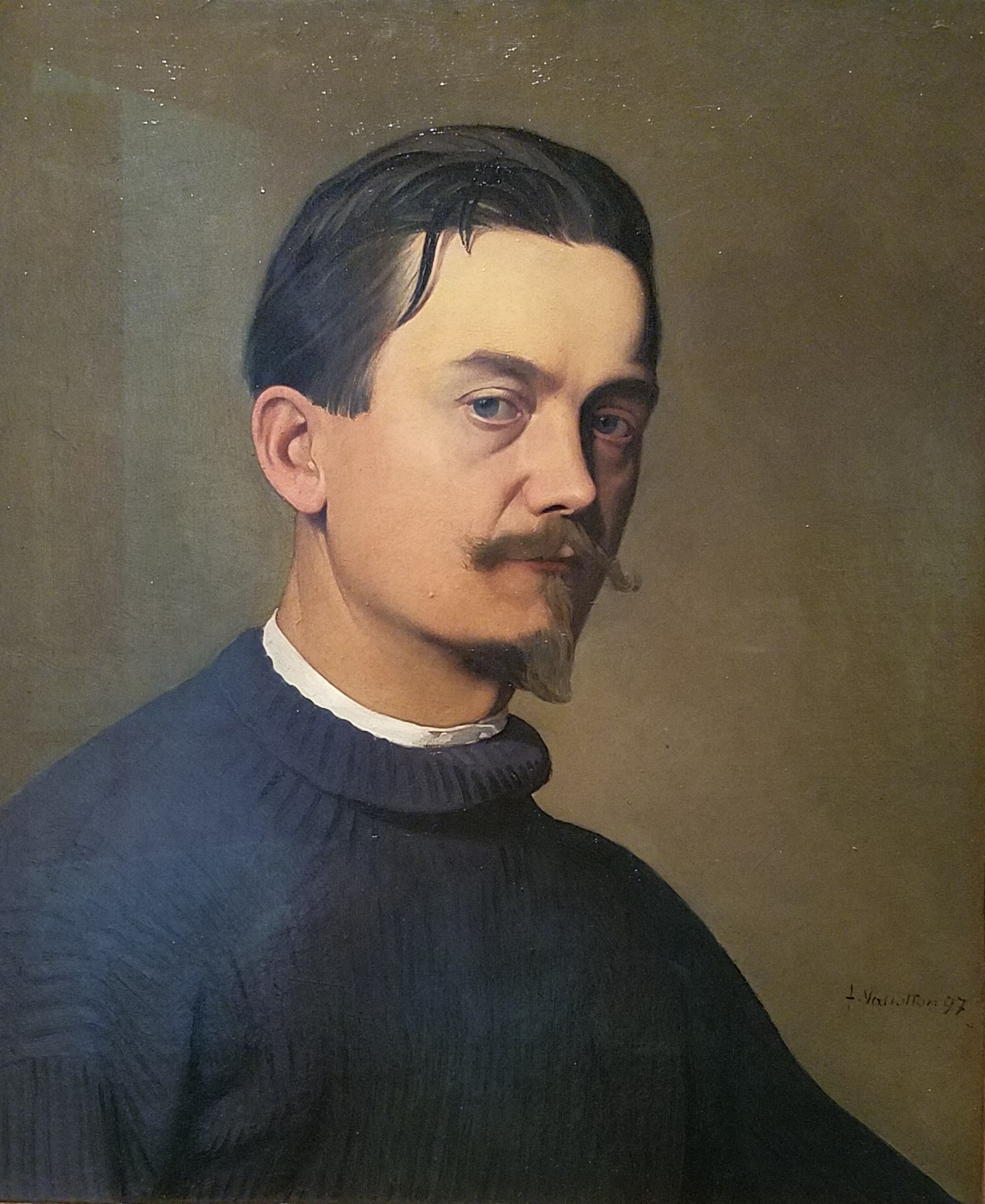 Félix Edouard Vallotton (1865–1925) self portrait