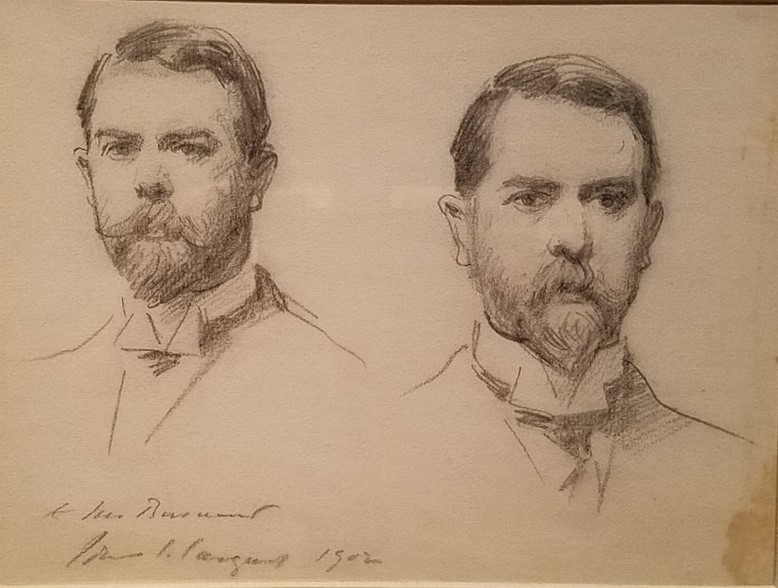John Singer Sargent, Double Self-Portrait, 1902
