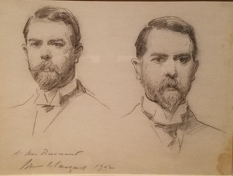 John Singer Sargent, Double Self-Portrait, 1902