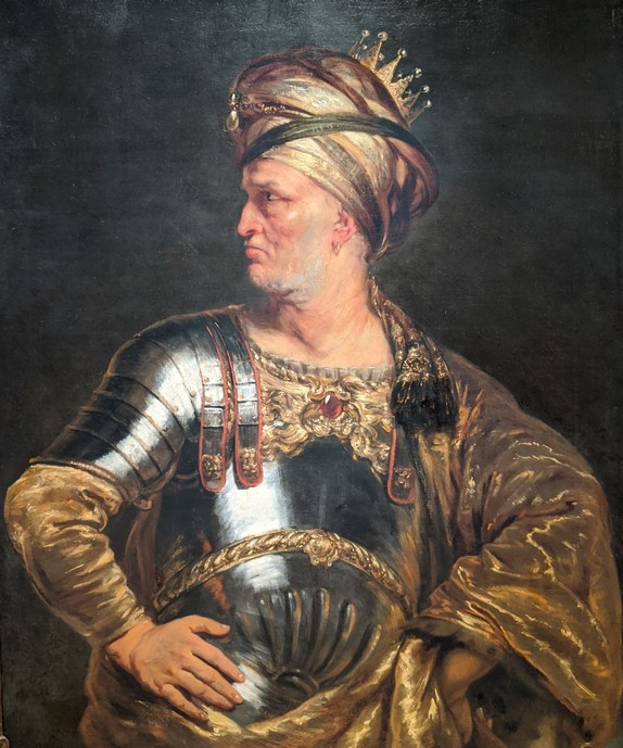 King Pyrrhus , owned by the Norton Museum of Art, was